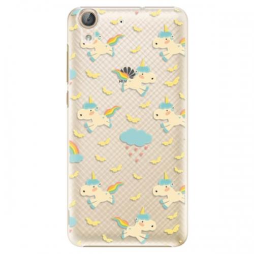 Plastové pouzdro iSaprio - Unicorn pattern 01 - Huawei Y6 II