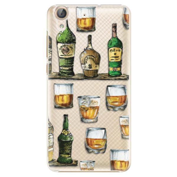 Plastové pouzdro iSaprio - Whisky pattern - Huawei Y6 II