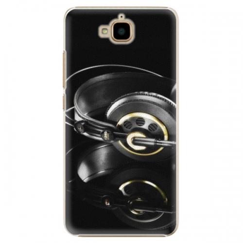 Plastové pouzdro iSaprio - Headphones 02 - Huawei Y6 Pro