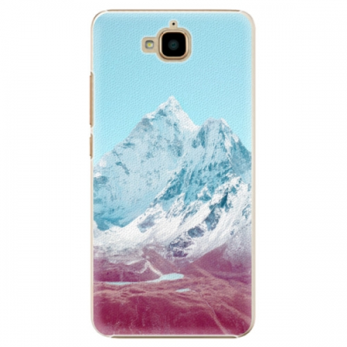 Plastové pouzdro iSaprio - Highest Mountains 01 - Huawei Y6 Pro