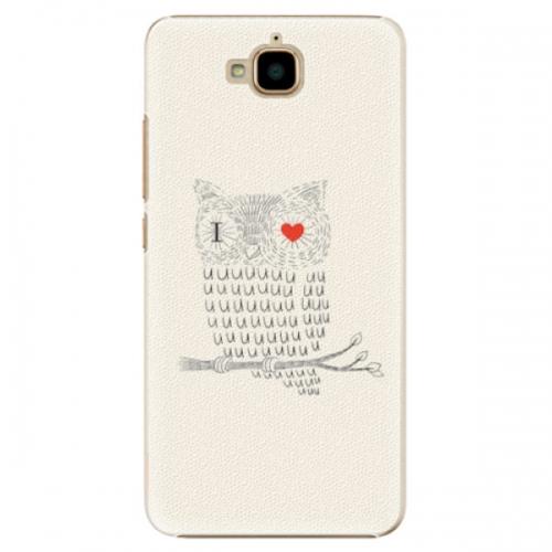 Plastové pouzdro iSaprio - I Love You 01 - Huawei Y6 Pro