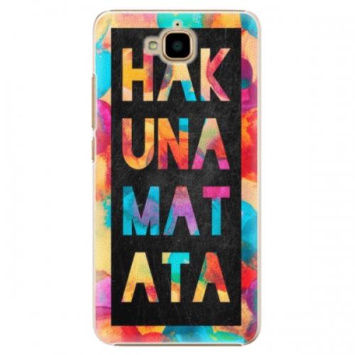 Plastové pouzdro iSaprio - Hakuna Matata 01 - Huawei Y6 Pro