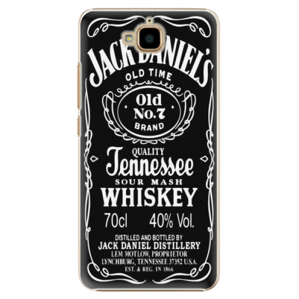 Plastové pouzdro iSaprio - Jack Daniels - Huawei Y6 Pro