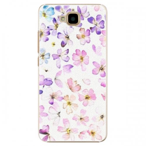 Plastové pouzdro iSaprio - Wildflowers - Huawei Y6 Pro