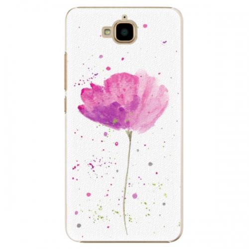 Plastové pouzdro iSaprio - Poppies - Huawei Y6 Pro
