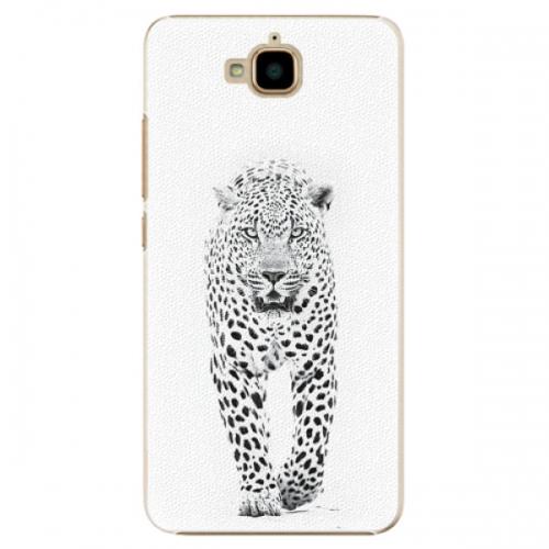 Plastové pouzdro iSaprio - White Jaguar - Huawei Y6 Pro