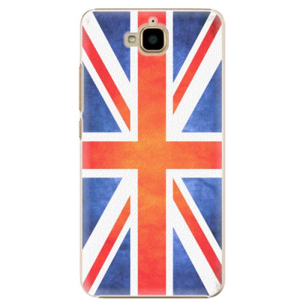 Plastové pouzdro iSaprio - UK Flag - Huawei Y6 Pro