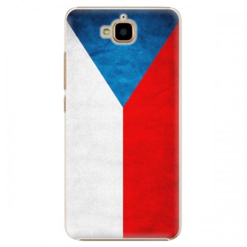Plastové pouzdro iSaprio - Czech Flag - Huawei Y6 Pro
