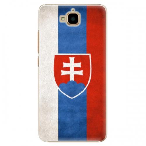 Plastové pouzdro iSaprio - Slovakia Flag - Huawei Y6 Pro