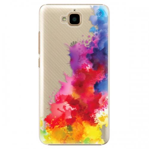 Plastové pouzdro iSaprio - Color Splash 01 - Huawei Y6 Pro