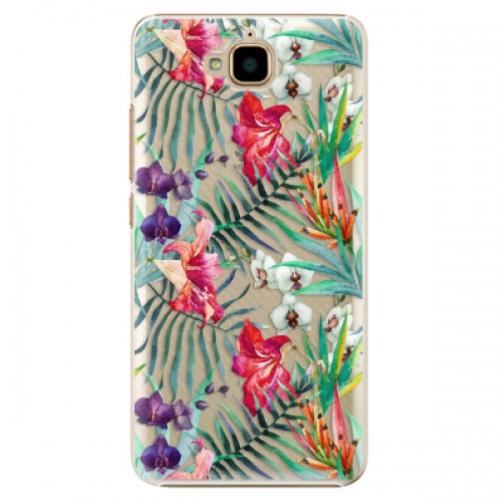 Plastové pouzdro iSaprio - Flower Pattern 03 - Huawei Y6 Pro
