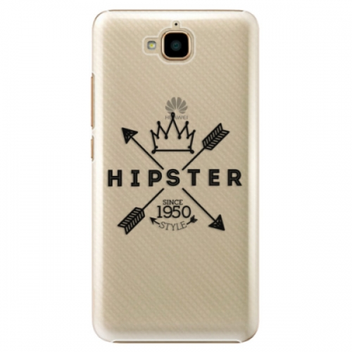 Plastové pouzdro iSaprio - Hipster Style 02 - Huawei Y6 Pro