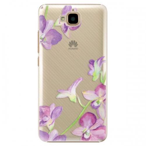 Plastové pouzdro iSaprio - Purple Orchid - Huawei Y6 Pro