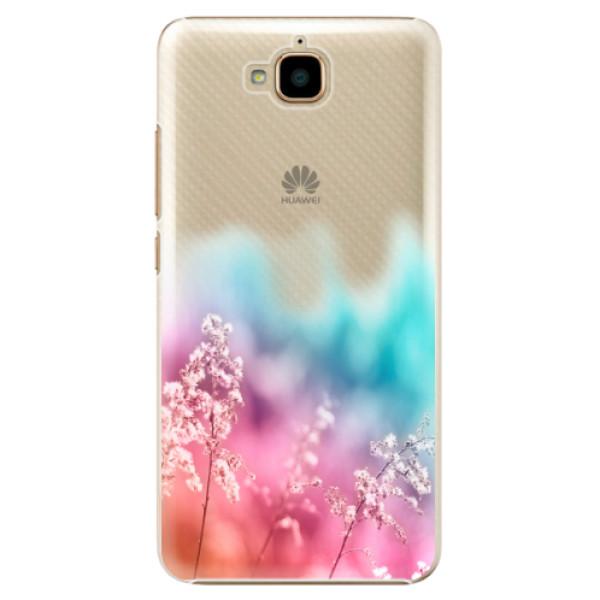 Plastové pouzdro iSaprio - Rainbow Grass - Huawei Y6 Pro