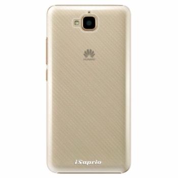 Plastové pouzdro iSaprio - 4Pure - mléčný bez potisku - Huawei Y6 Pro