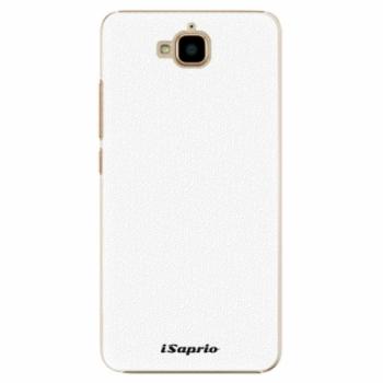 Plastové pouzdro iSaprio - 4Pure - bílý - Huawei Y6 Pro