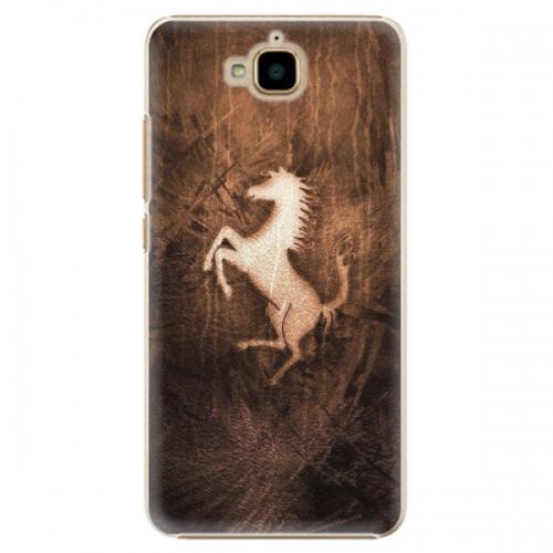 Plastové pouzdro iSaprio - Vintage Horse - Huawei Y6 Pro