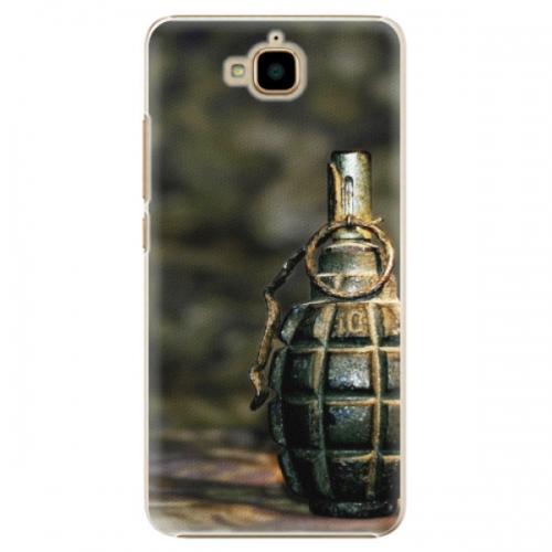Plastové pouzdro iSaprio - Grenade - Huawei Y6 Pro