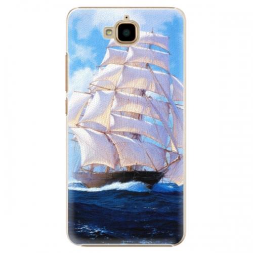 Plastové pouzdro iSaprio - Sailing Boat - Huawei Y6 Pro