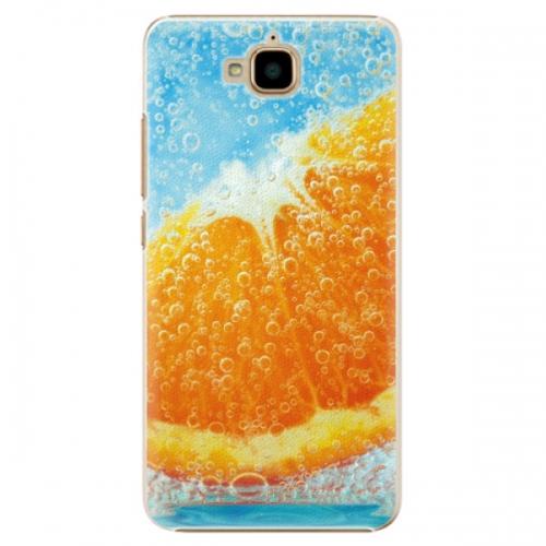Plastové pouzdro iSaprio - Orange Water - Huawei Y6 Pro