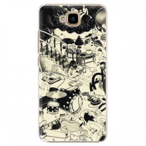 Plastové pouzdro iSaprio - Underground - Huawei Y6 Pro