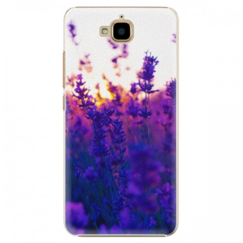 Plastové pouzdro iSaprio - Lavender Field - Huawei Y6 Pro