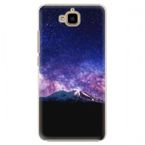 Plastové pouzdro iSaprio - Milky Way - Huawei Y6 Pro