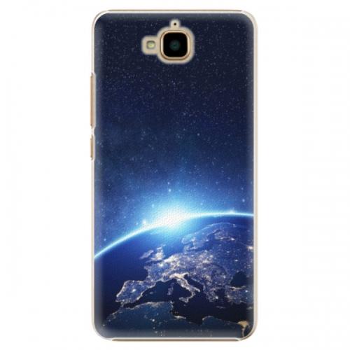 Plastové pouzdro iSaprio - Earth at Night - Huawei Y6 Pro