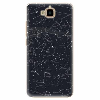 Plastové pouzdro iSaprio - Night Sky 01 - Huawei Y6 Pro