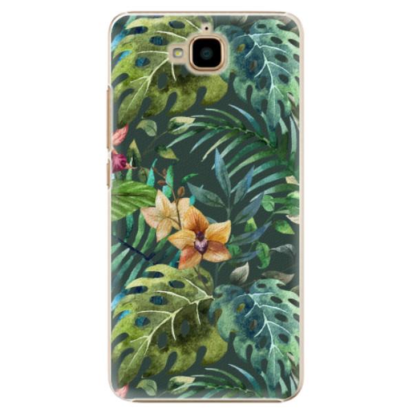 Plastové pouzdro iSaprio - Tropical Green 02 - Huawei Y6 Pro