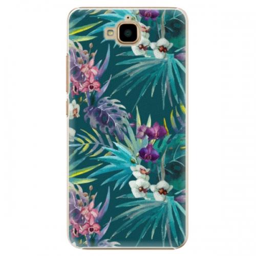 Plastové pouzdro iSaprio - Tropical Blue 01 - Huawei Y6 Pro