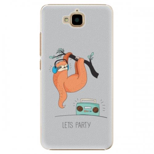 Plastové pouzdro iSaprio - Lets Party 01 - Huawei Y6 Pro