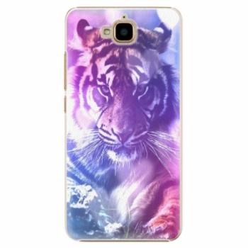 Plastové pouzdro iSaprio - Purple Tiger - Huawei Y6 Pro