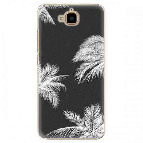 Plastové pouzdro iSaprio - White Palm - Huawei Y6 Pro