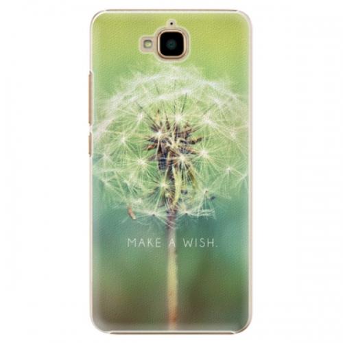 Plastové pouzdro iSaprio - Wish - Huawei Y6 Pro
