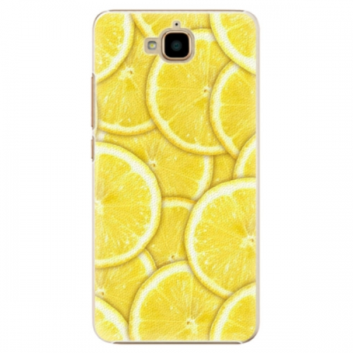 Plastové pouzdro iSaprio - Yellow - Huawei Y6 Pro