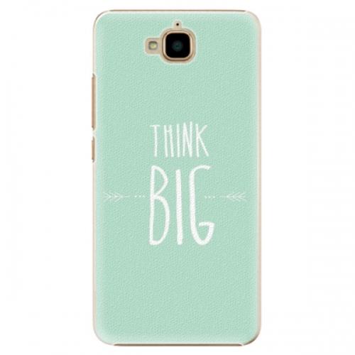Plastové pouzdro iSaprio - Think Big - Huawei Y6 Pro