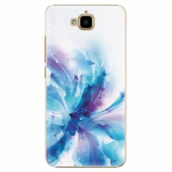 Plastové pouzdro iSaprio - Abstract Flower - Huawei Y6 Pro