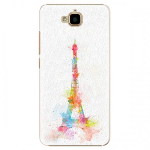 Plastové pouzdro iSaprio - Eiffel Tower - Huawei Y6 Pro