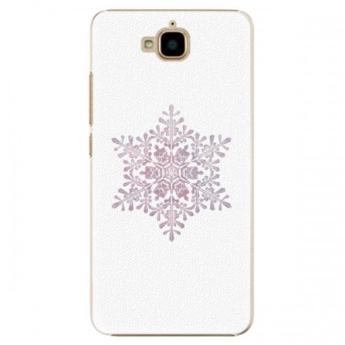 Plastové pouzdro iSaprio - Snow Flake - Huawei Y6 Pro
