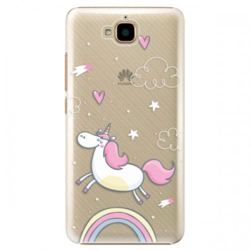 Plastové pouzdro iSaprio - Unicorn 01 - Huawei Y6 Pro
