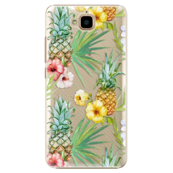 Plastové pouzdro iSaprio - Pineapple Pattern 02 - Huawei Y6 Pro