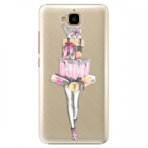 Plastové pouzdro iSaprio - Queen of Shopping - Huawei Y6 Pro