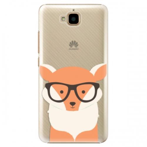 Plastové pouzdro iSaprio - Orange Fox - Huawei Y6 Pro