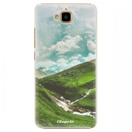 Plastové pouzdro iSaprio - Green Valley - Huawei Y6 Pro