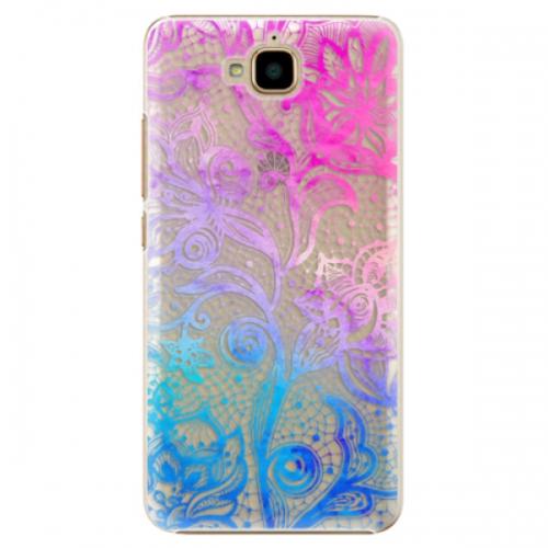 Plastové pouzdro iSaprio - Color Lace - Huawei Y6 Pro