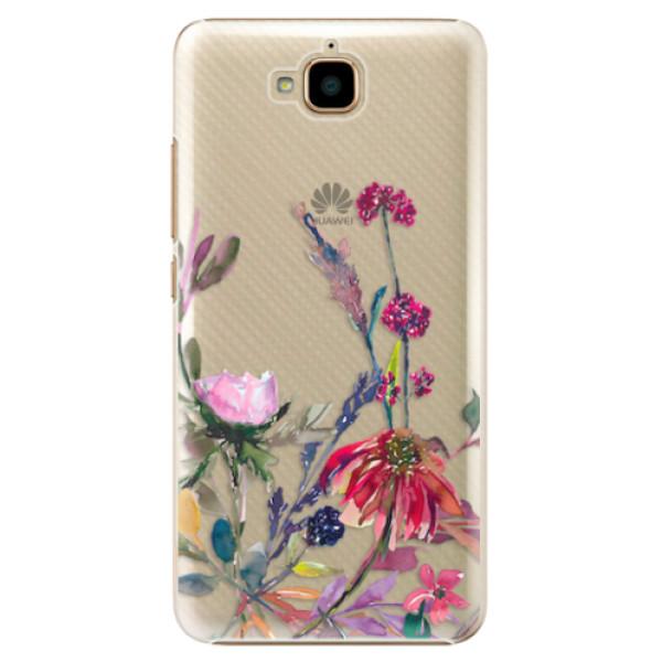 Plastové pouzdro iSaprio - Herbs 02 - Huawei Y6 Pro