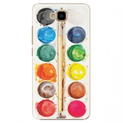 Plastové pouzdro iSaprio - Watercolors - Huawei Y6 Pro