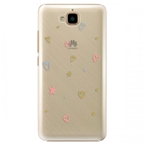 Plastové pouzdro iSaprio - Lovely Pattern - Huawei Y6 Pro