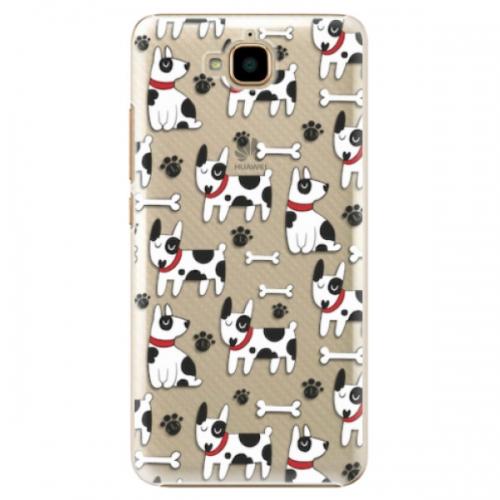 Plastové pouzdro iSaprio - Dog 02 - Huawei Y6 Pro